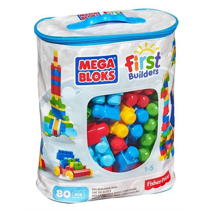 Конструктор Mega Bloks Обучающий 80 деталей в коробке<br>