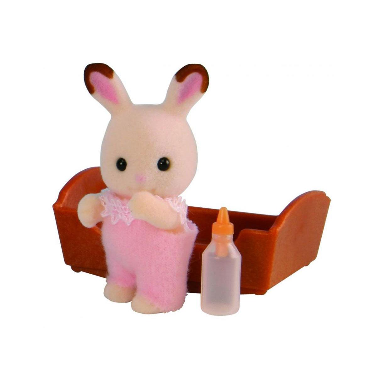 Фигурки животных Sylvanian Families Малыш Шоколадный Кролик<br>