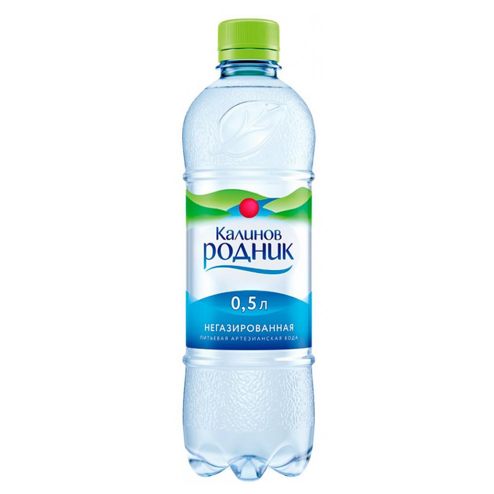 Вода Калинов Родник минеральная природная негаз 0,5 л