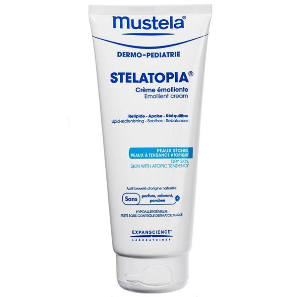 Крем-эмульсия Stelatopia для новорожденных и младенцев Mustela 200 мл<br>