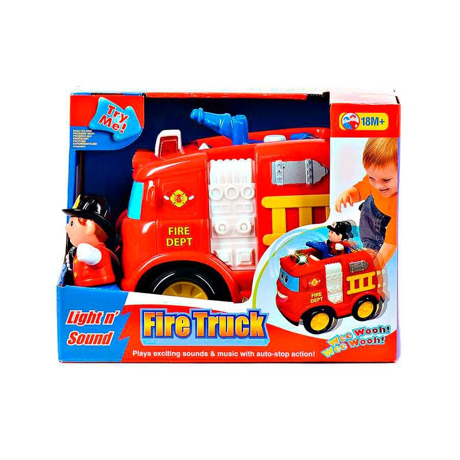 Развивающая игрушка Kiddieland Пожарная машина<br>