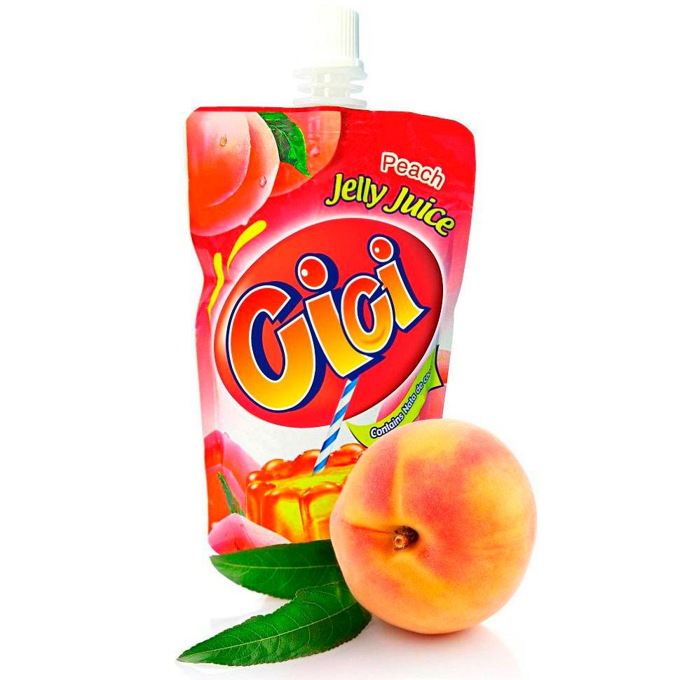 Желе CI - CI 150 гр (пауч) с кусочками кокоса и вкусом персика<br>