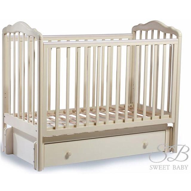 Кроватка Sweet Baby Tesoro II Avorio Слоновая кость<br>
