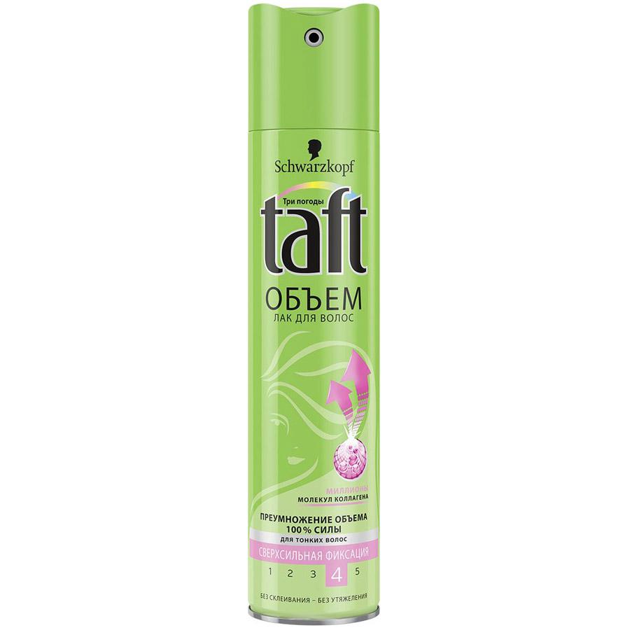 Лак для тонких волос Taft Classic объем сверхсильной фиксации 225 мл<br>
