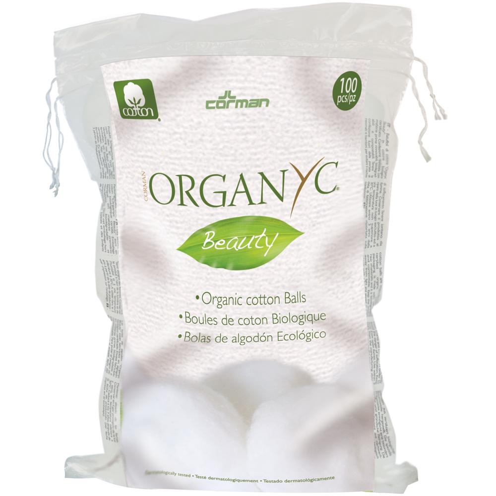 Ватные шарики Organyc из органического хлопка 100 шт<br>