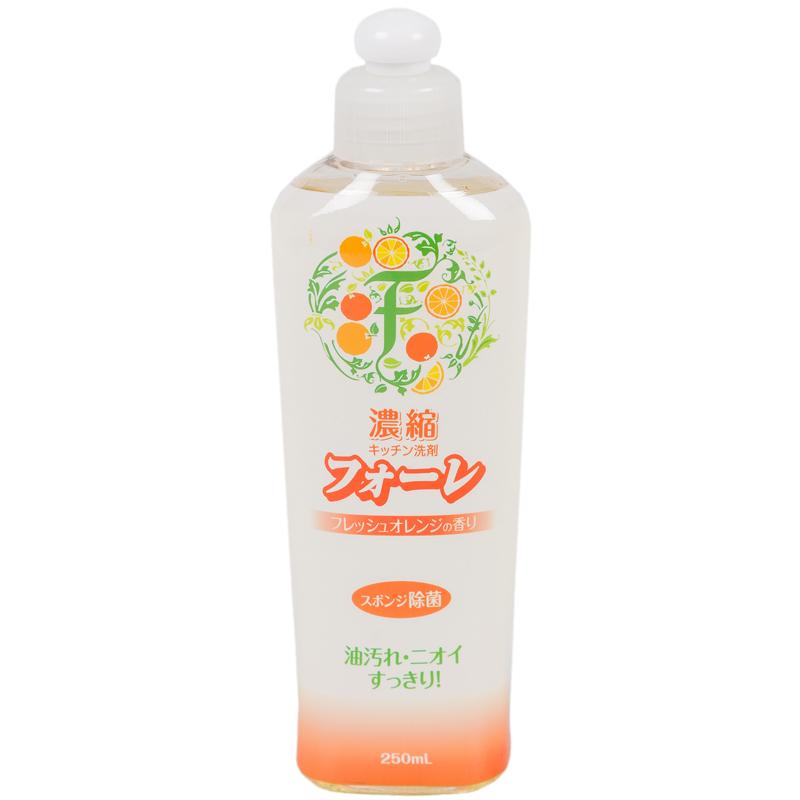 Средство для мытья посуды Kaneyo Faure (антибактериальное) 250 мл. Апельсин