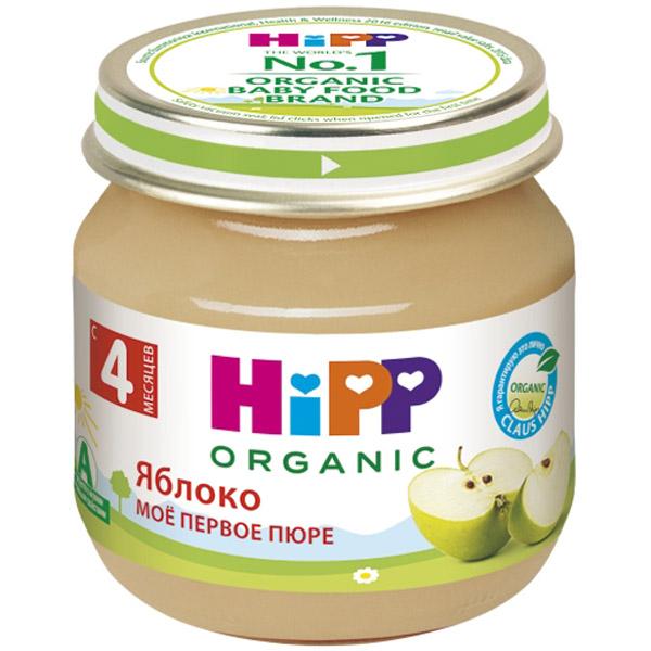 Пюре Hipp фруктовое 80 гр Яблоко (с 4 мес)<br>
