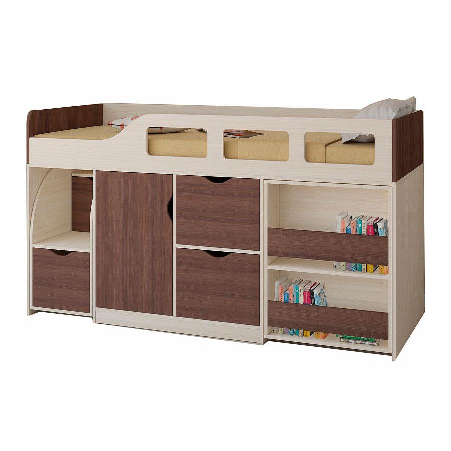 Набор мебели РВ-Мебель Астра 8 Дуб молочный/Дуб шамони<br>