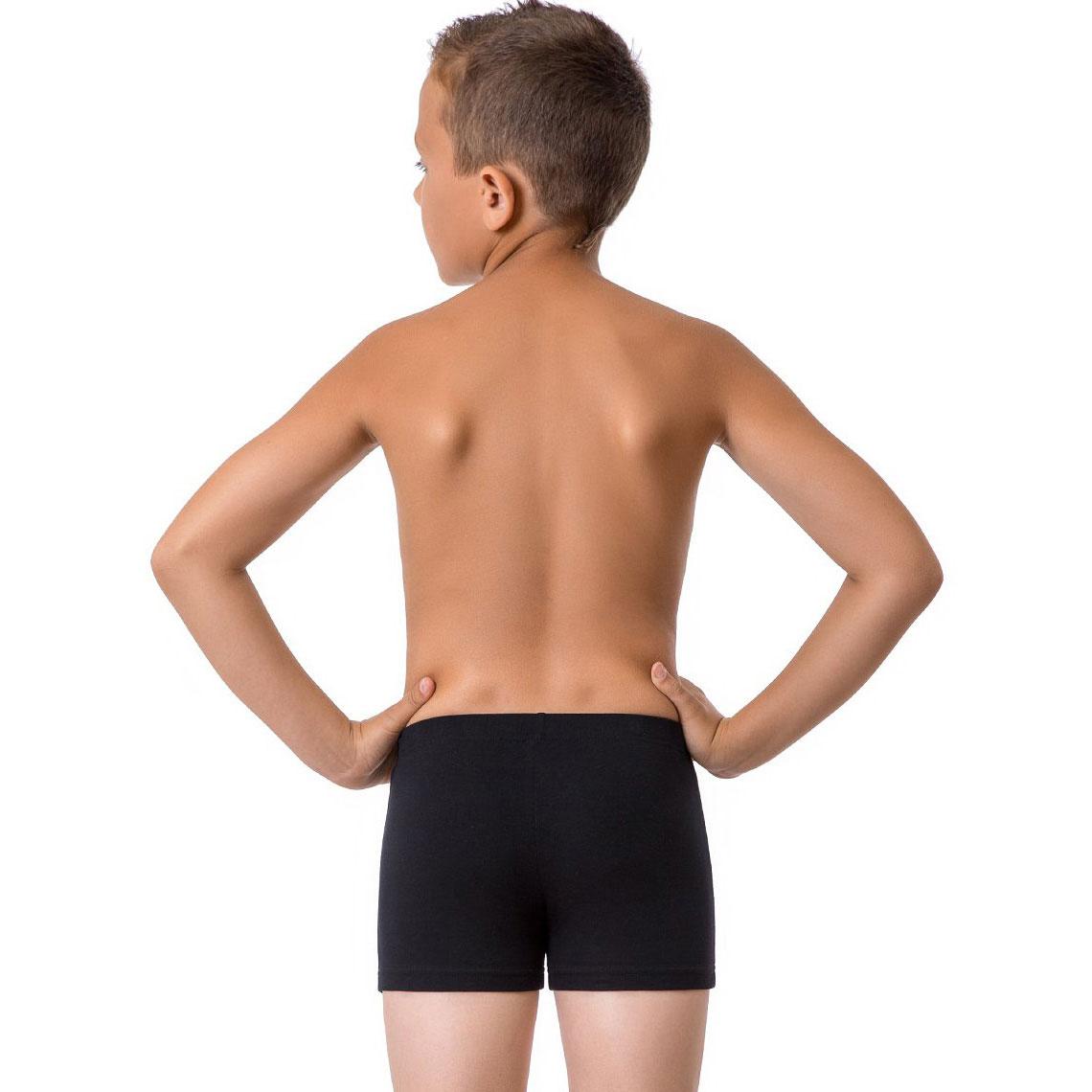 Трусы для мальчиков (2 шт.) Nirey Нирей цвет черный (с рисунком) размер 92-98 см
