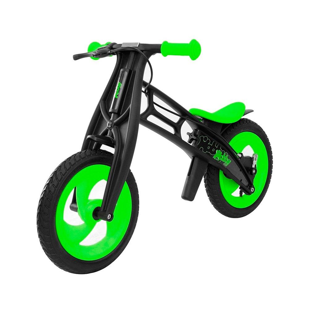 Велобалансир-беговел Hobby-bike Fly B черная оса Kiwi/Black<br>