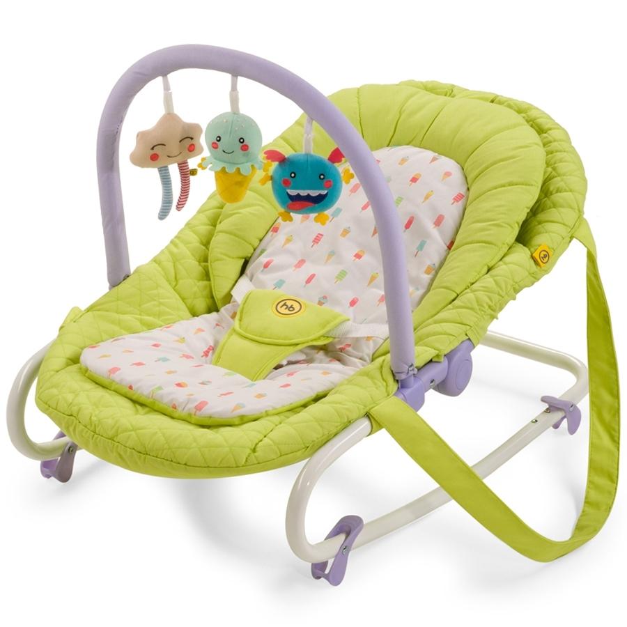 Шезлонг Happy Baby Nesty Зеленый<br>
