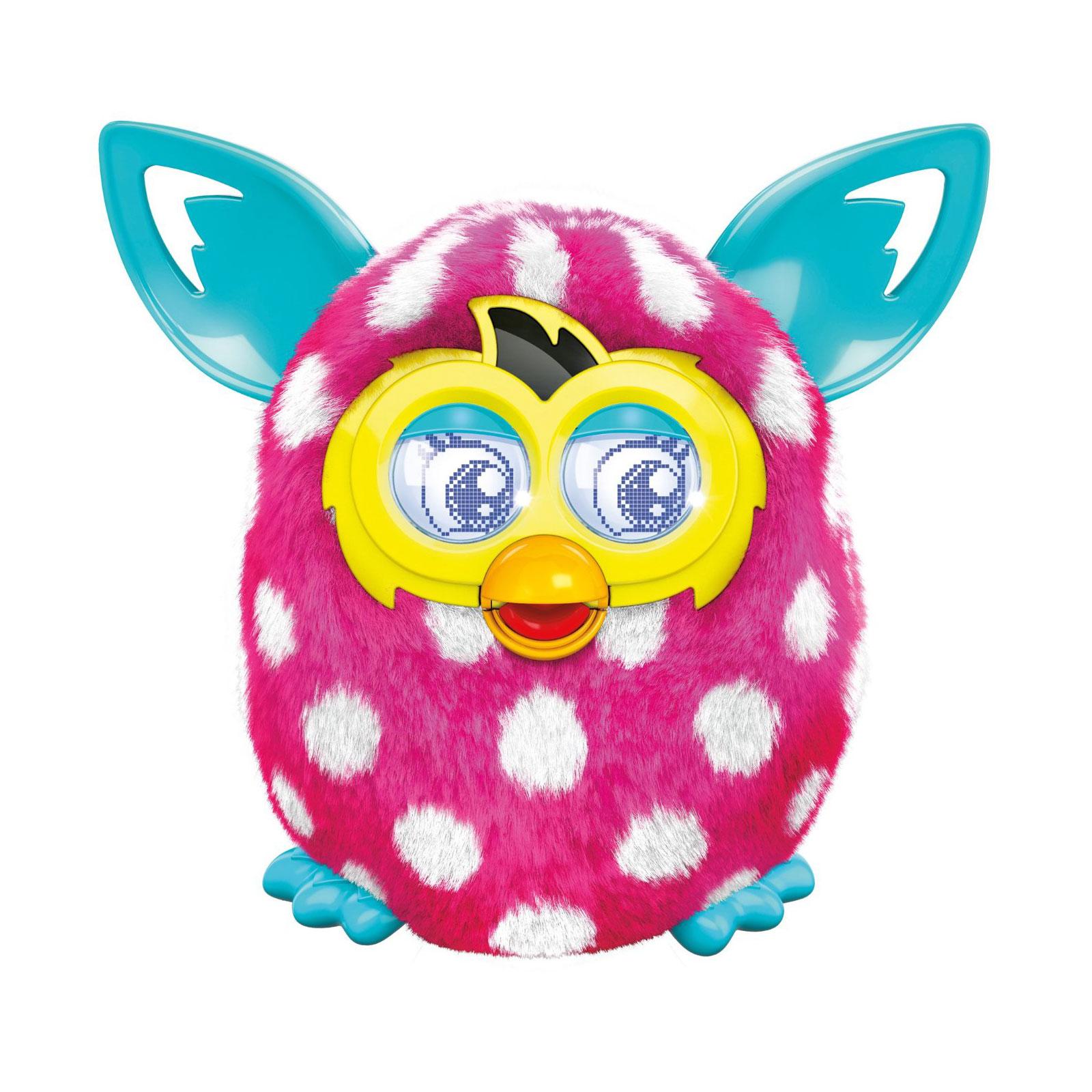 Интерактивная игрушка Furby Boom Солнечная  волна Розовый в белый горошек