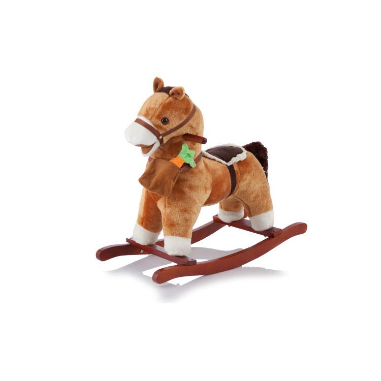 Качалка Jolly Ride Пони Меховая<br>