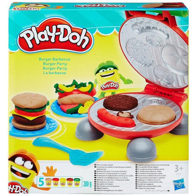 Игровой набор Play-Doh Бургер гриль<br>