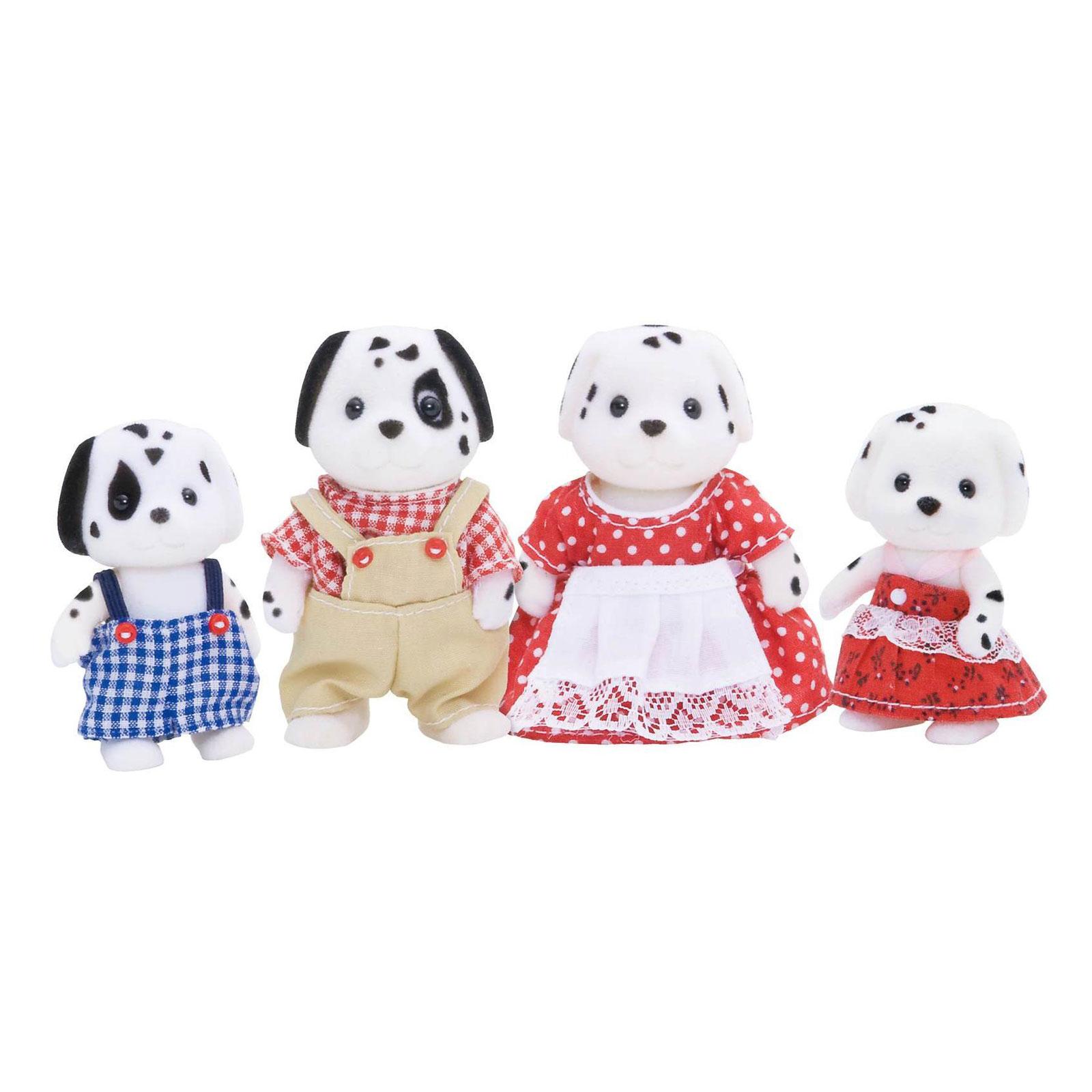 Фигурки животных Sylvanian Families Семья Далматинов<br>