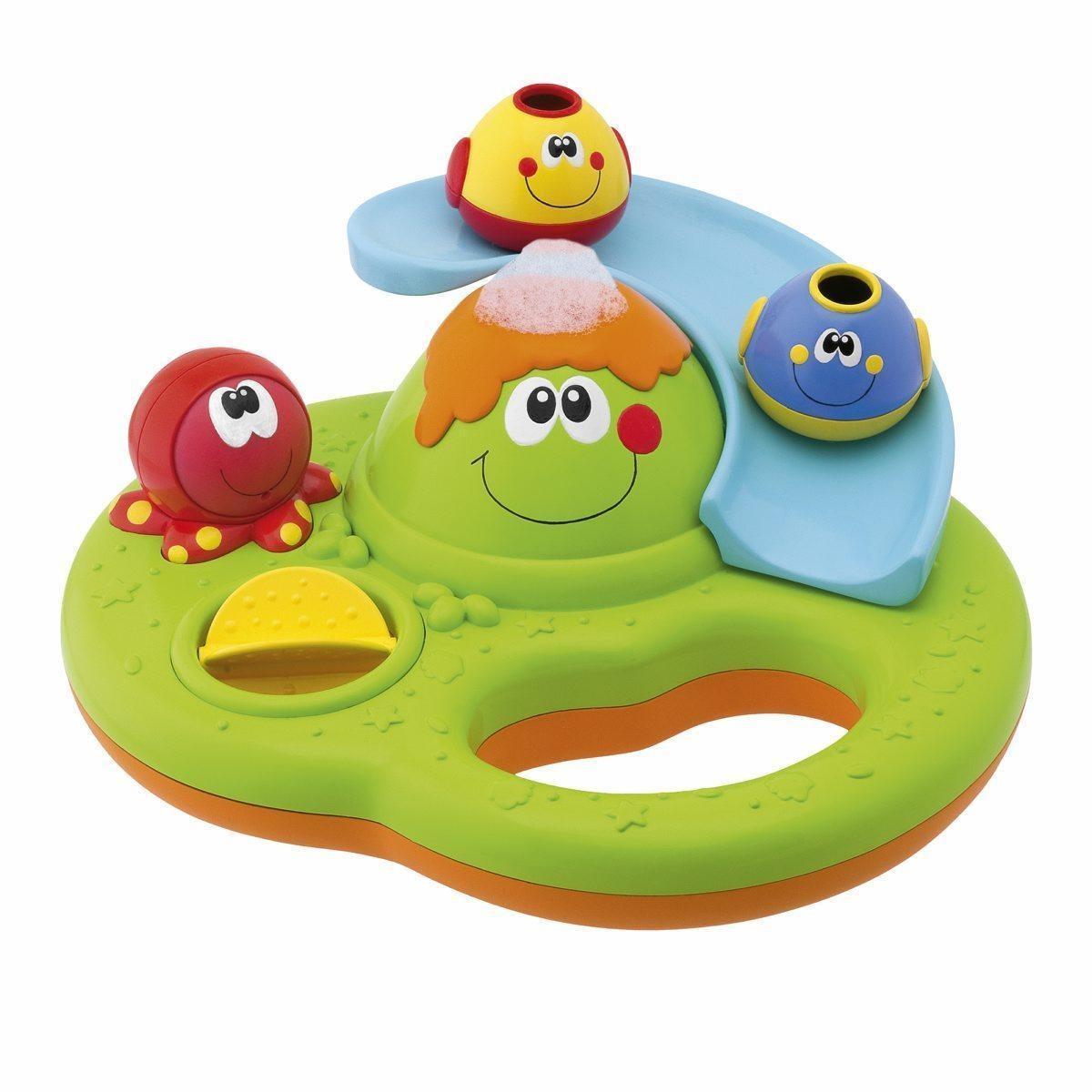Игрушка для ванны Chicco Остров с пузырьками<br>