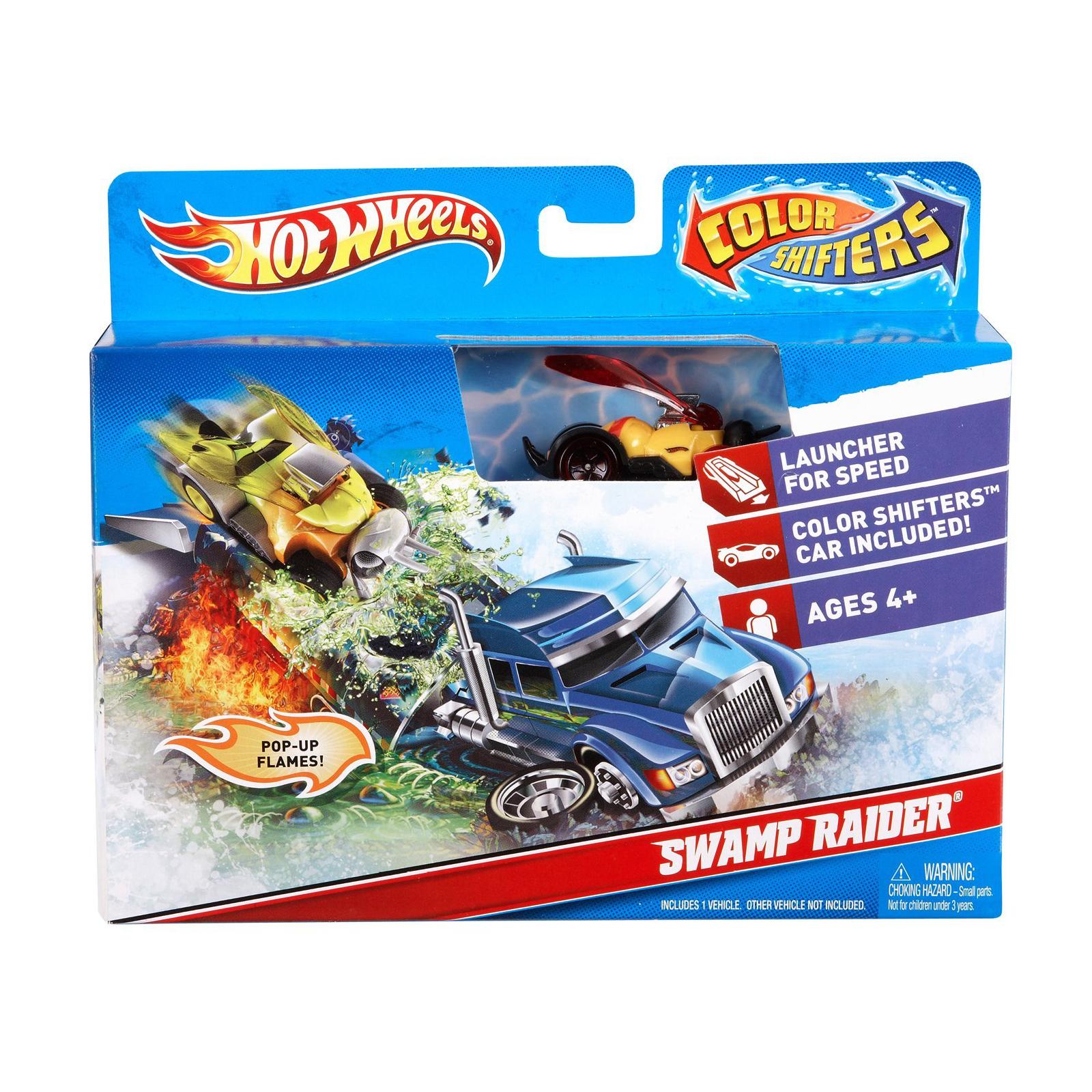 ������� ����� Hot Wheels ������� ����� Color Shifters Swamp Raider