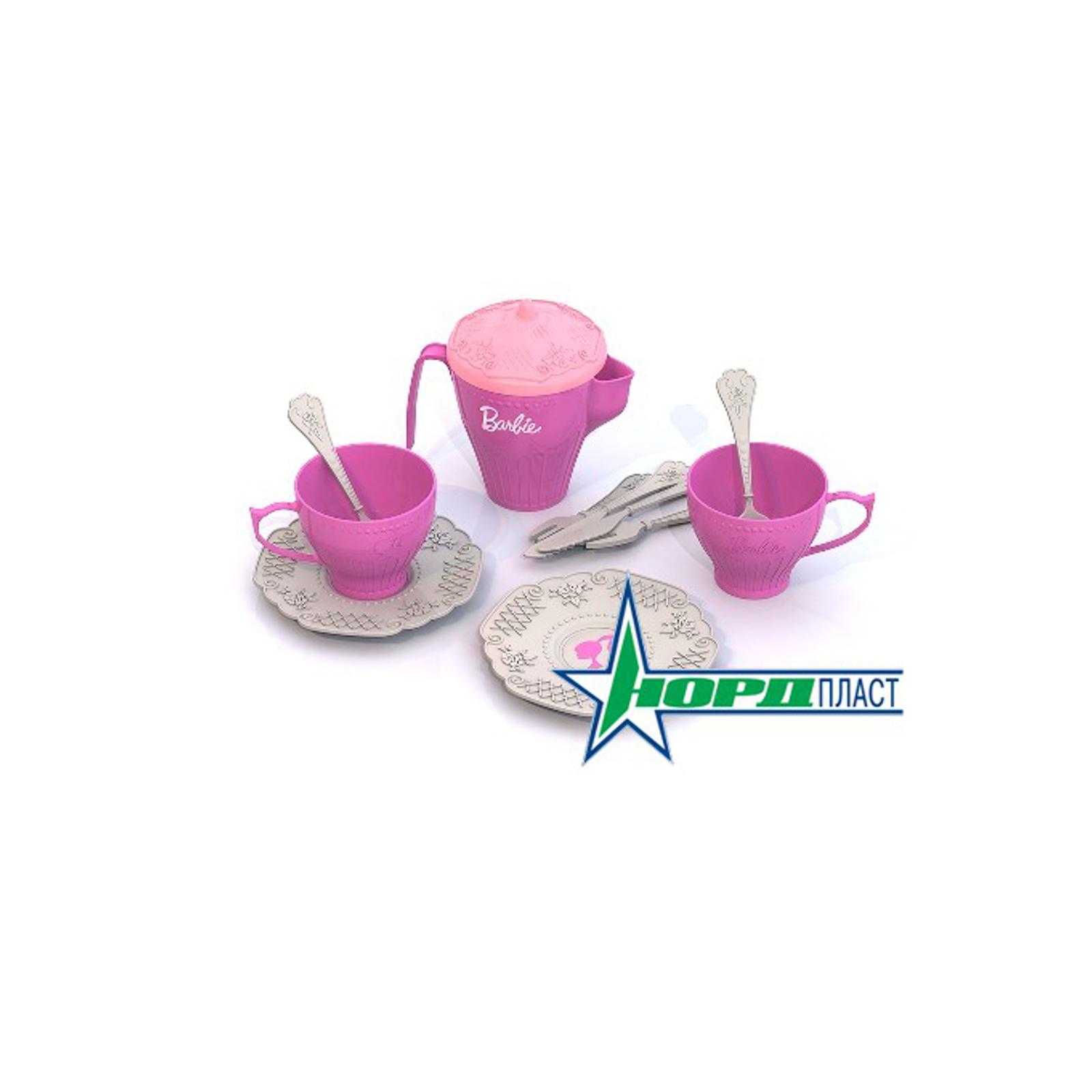 Набор посуды Нордпласт Барби 12 предметов<br>