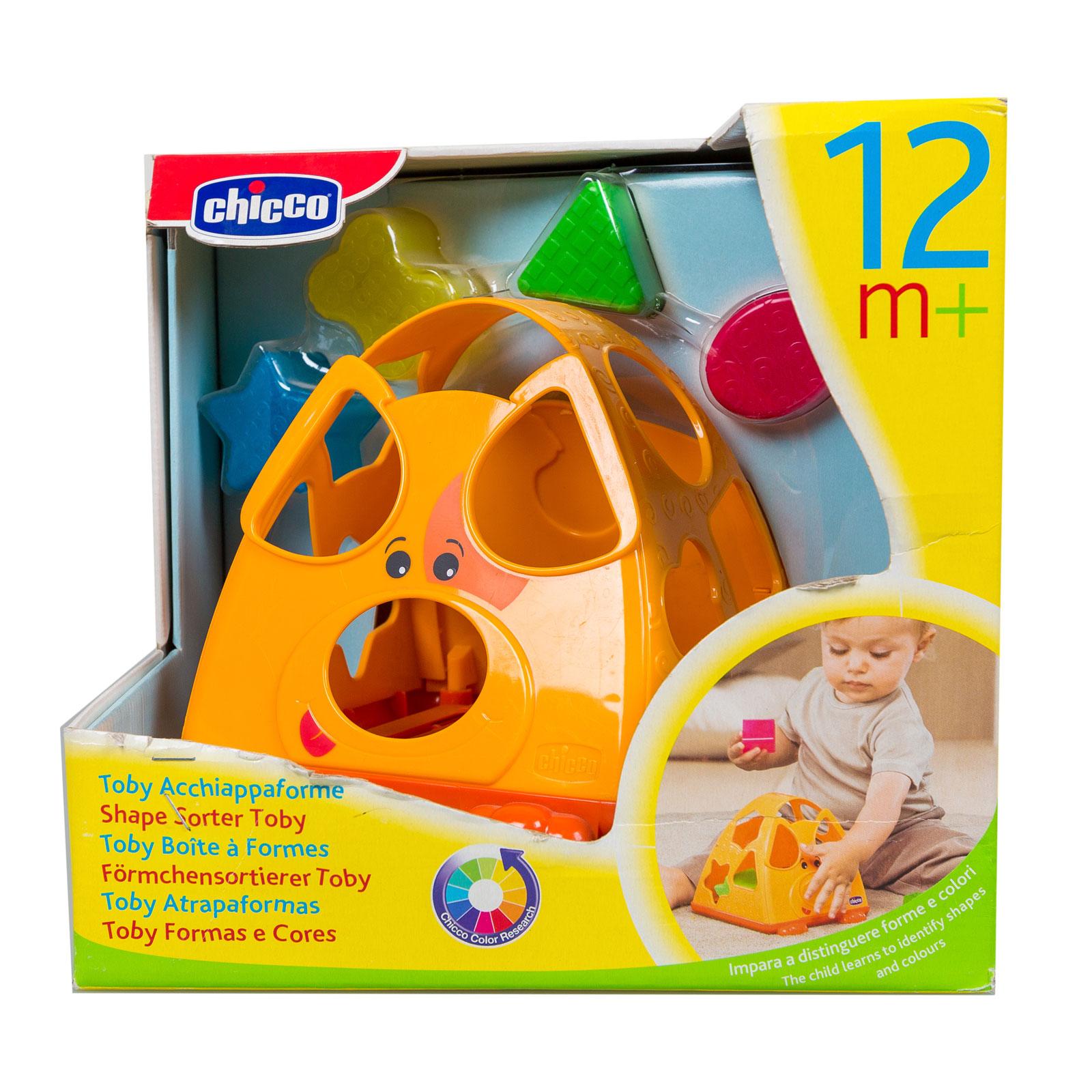 Развивающая игрушка Chicco Тоби с 12 мес. (сортер)<br>