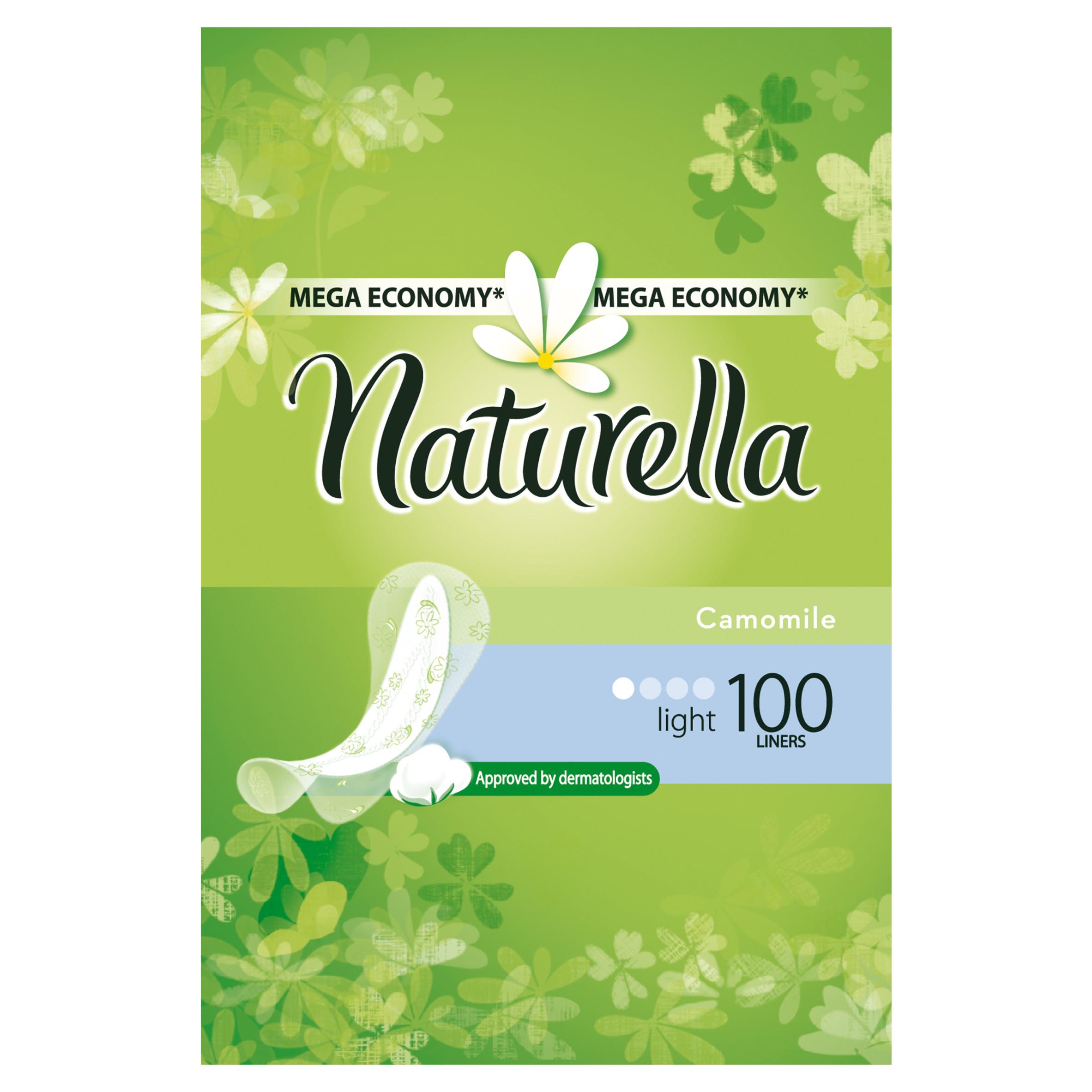 Прокладки гигиенические Naturella ежедневные Light Camomile 100Шт.<br>