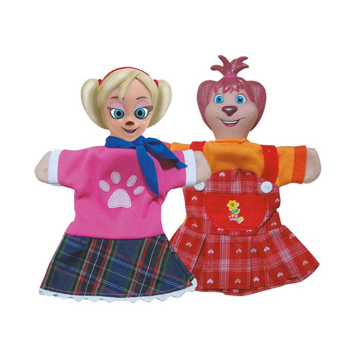 Кукольный театр Умка Барбоскины Роза и Лиза