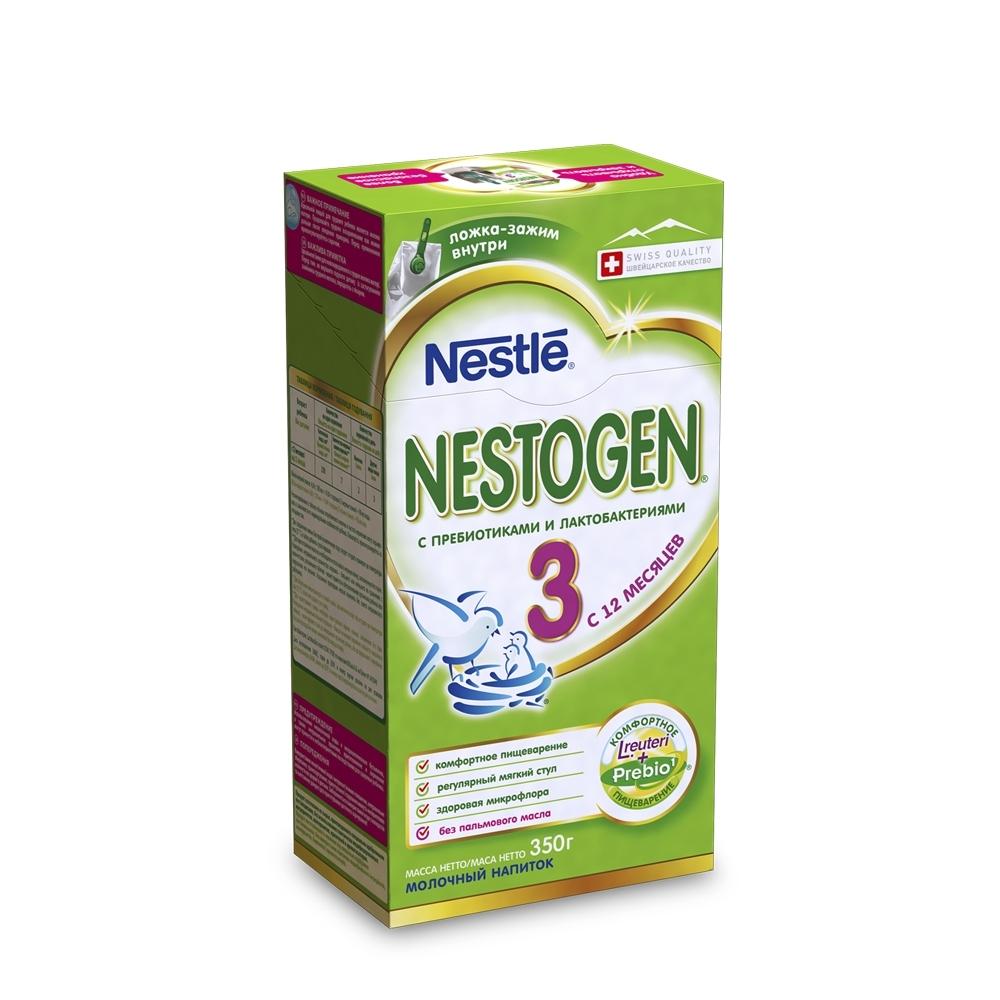 Детское молочко Nestle Nestogen 350 гр №3 (с 12 мес)<br>