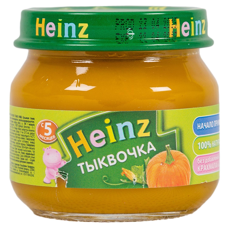 Пюре Heinz овощное 80 гр Тыква (с 5 мес)<br>