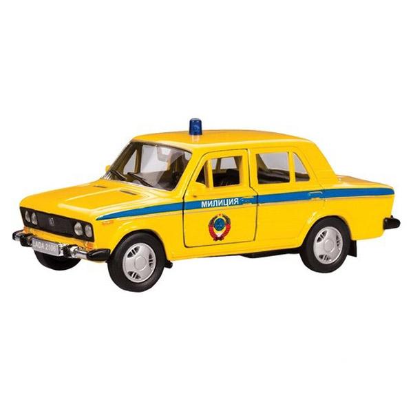 Машинка Autotime LADA 2106 милиция СССР 1:36<br>