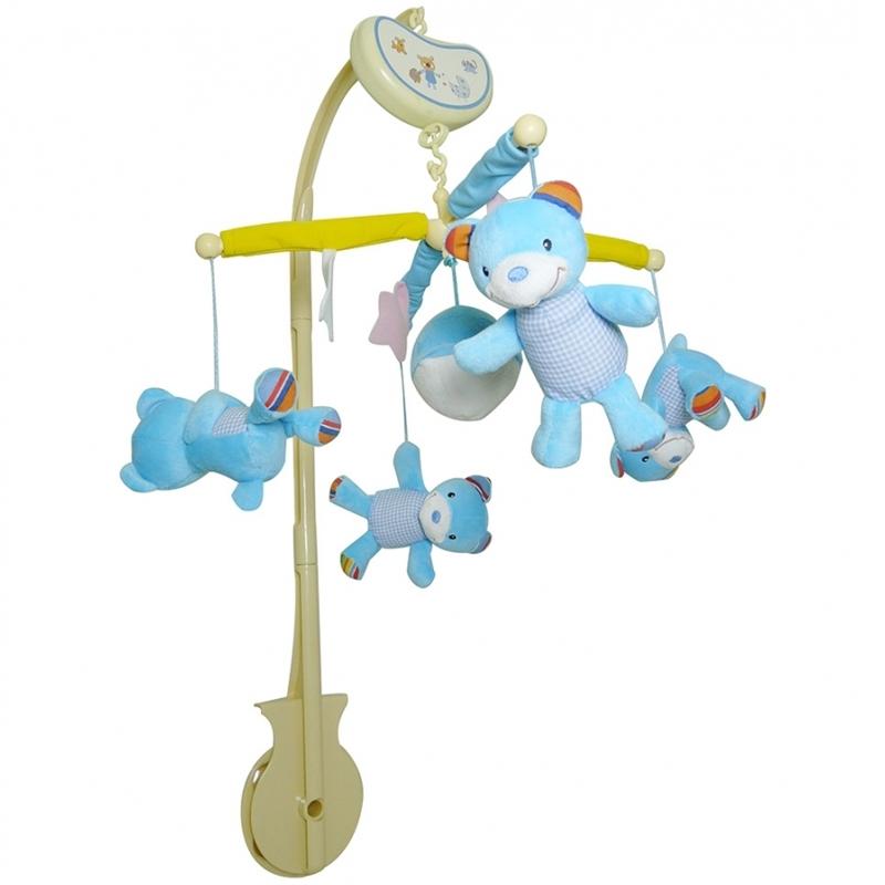Мобиль Biba Toys музыкальный Мишки<br>