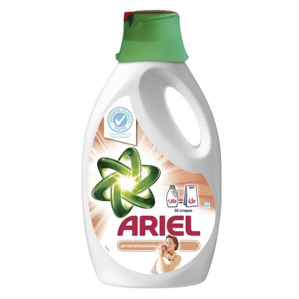 Гель для стирки Ariel Для чувствительной кожи 1,95л<br>