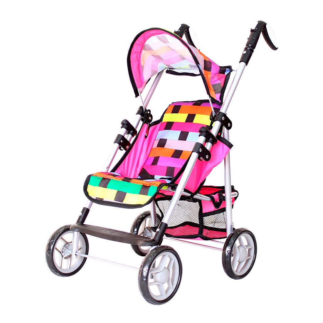 Кукольная коляска RT Радуга 9351<br>