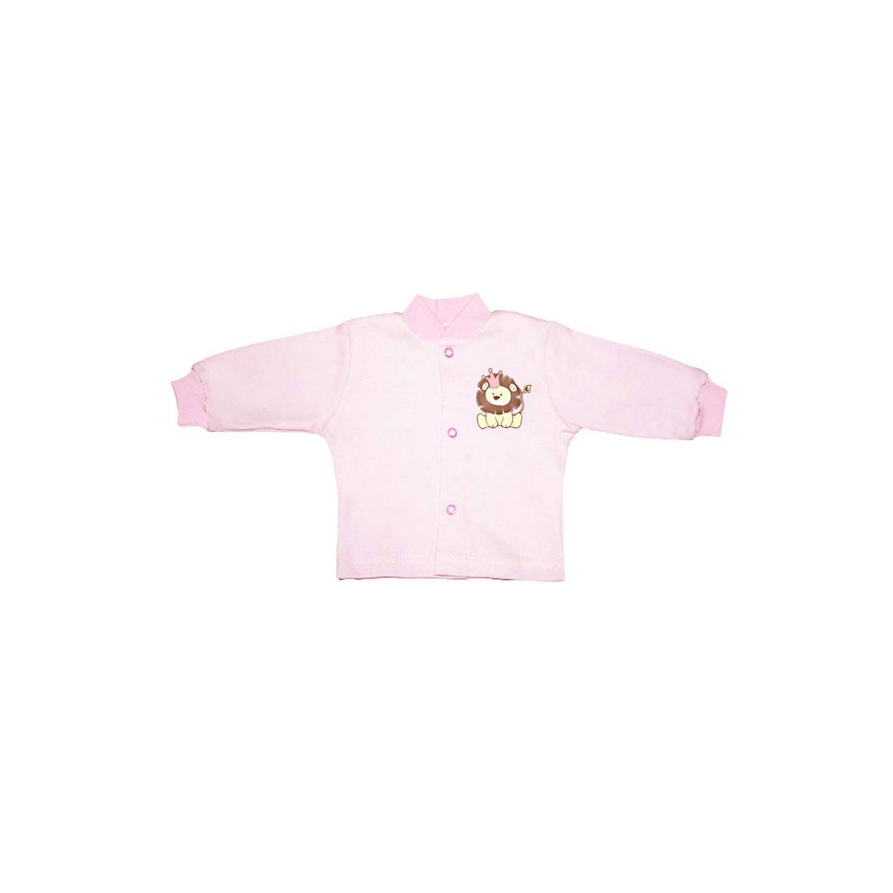 Кофточка КОТМАРКОТ для девочки, цвет розовый 0-1 мес (размер 56)<br>