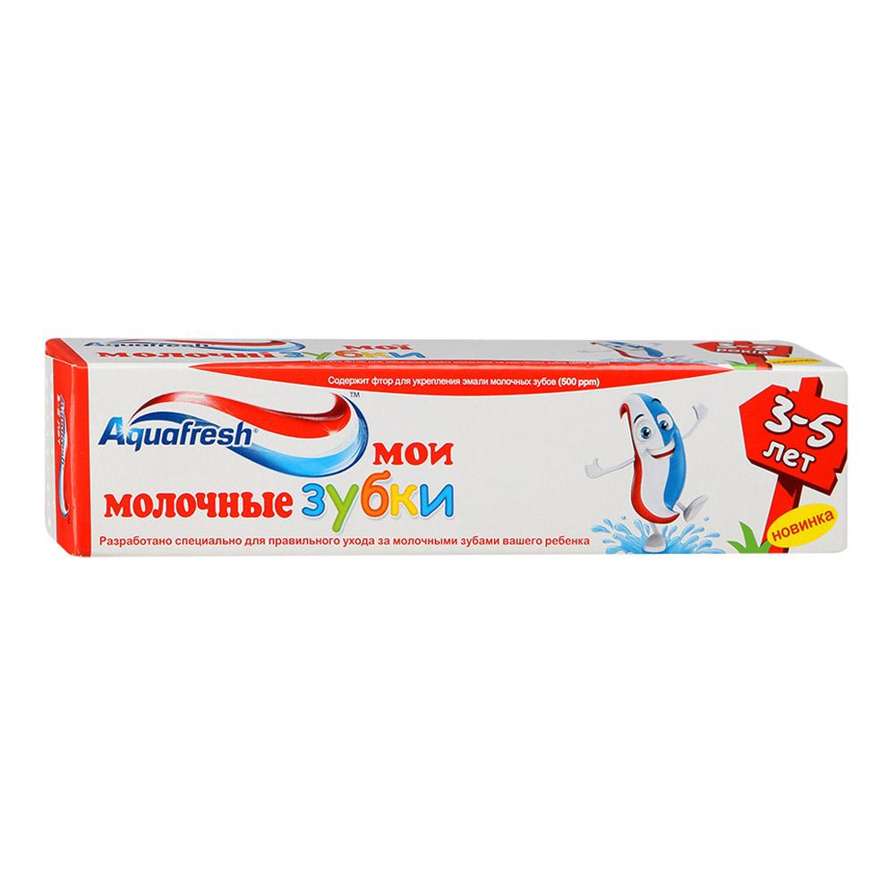 Зубная паста Aquafresh Мои молочные зубки от 3 до 5 лет 50мл