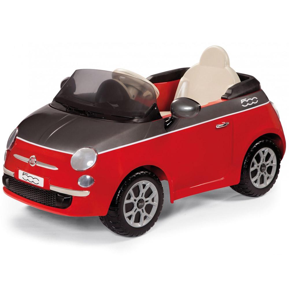 Электромобиль Peg-Perego FIAT 500 Красный<br>