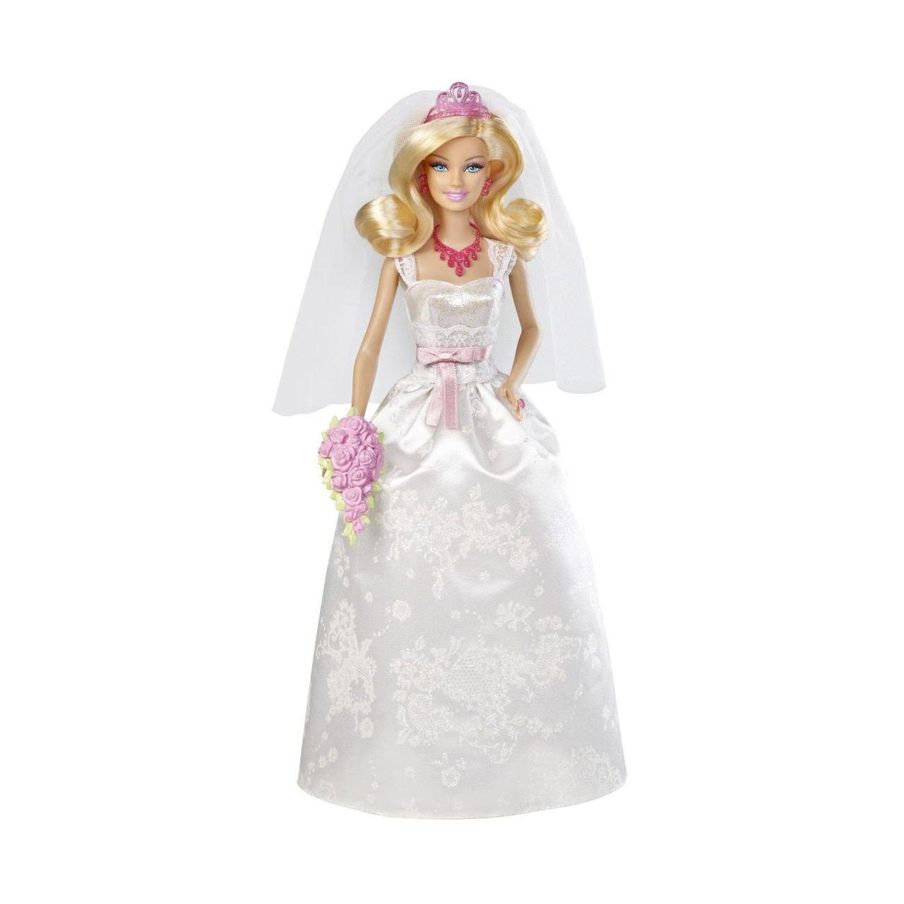 Кукла Barbie Невеста короля + DVD