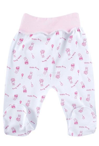Ползунки на поясе КОТМАРКОТ для девочки, цвет розовый