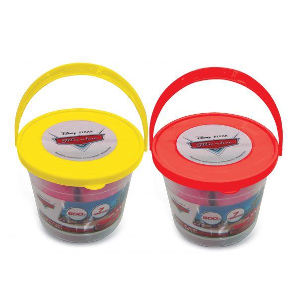 Пластилин Multiart Disney тачки 7 цветов 500 грамм<br>