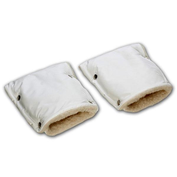 Муфты-рукавички Чудо-Чадо меховые Белый<br>