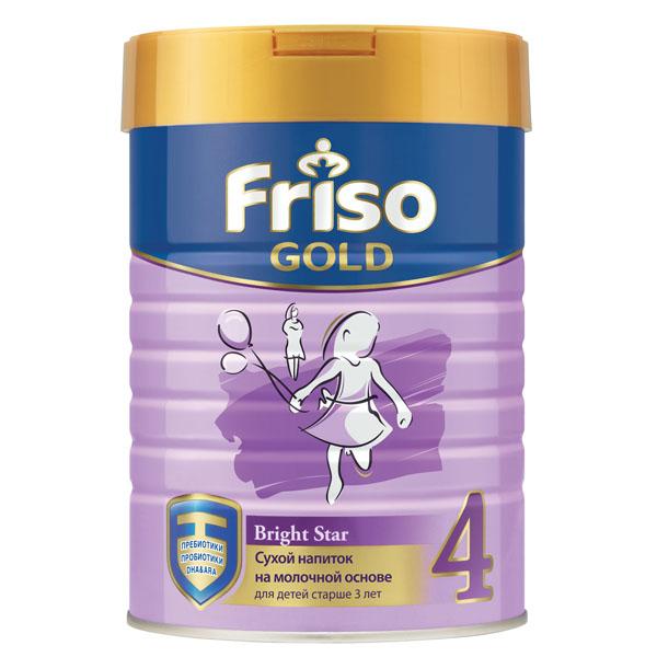 Заменитель Friso Фрисолак Gold 400 гр № 4 (c 3 лет)<br>