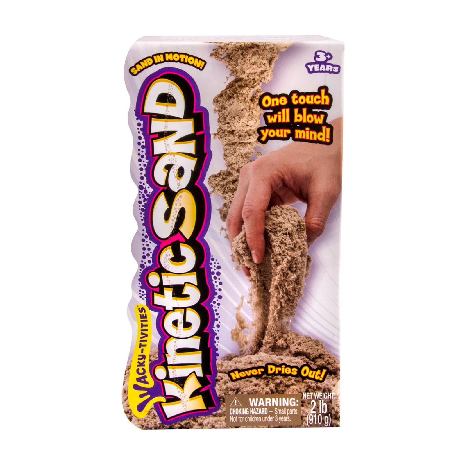 Кинетический песок Kinetic sand Коричневый<br>