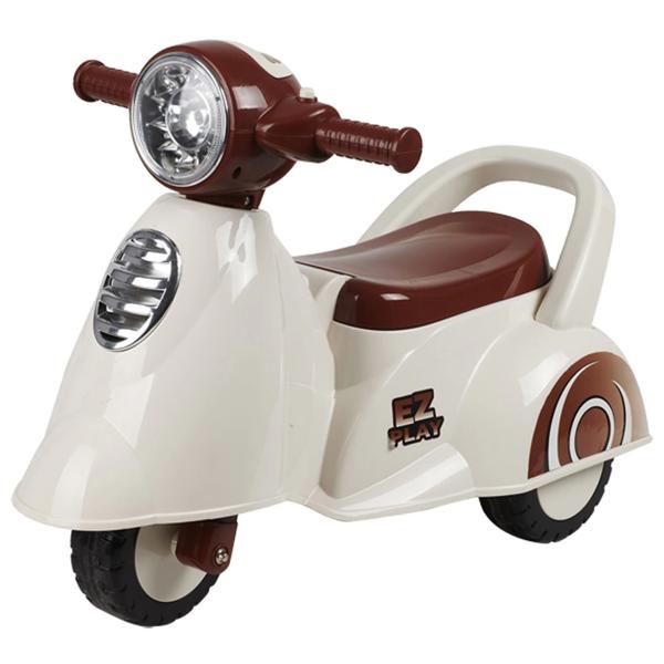Музыкальная детская каталка Everflo Мотоцикл 605<br>