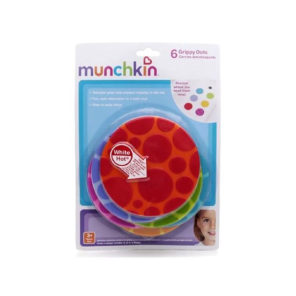 Принадлежности для купания Munchkin коврик 6 шт с 0 мес<br>