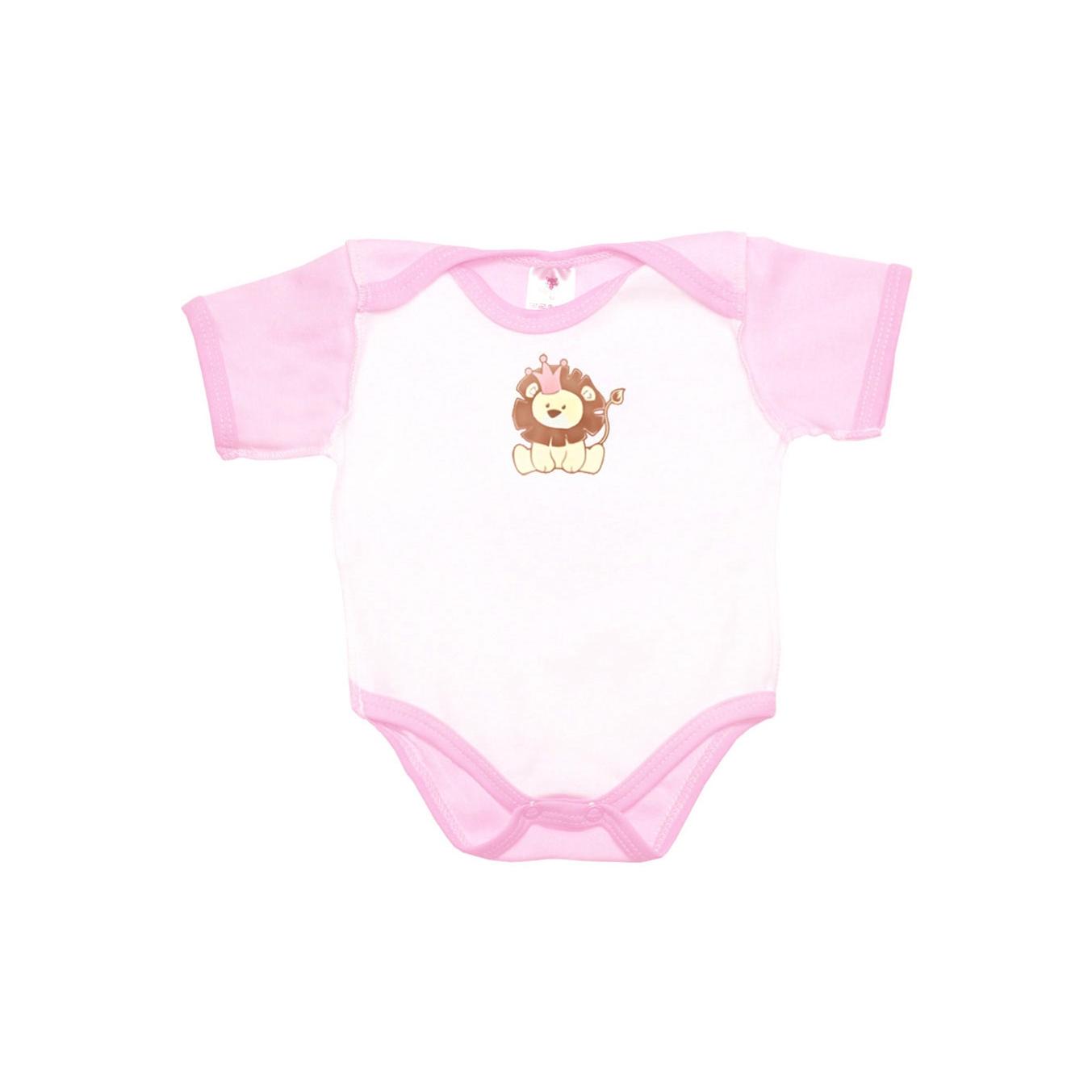 Боди с коротким рукавом КОТМАРКОТ для девочки, цвет розовый 1-3 мес (размер 62 см)<br>
