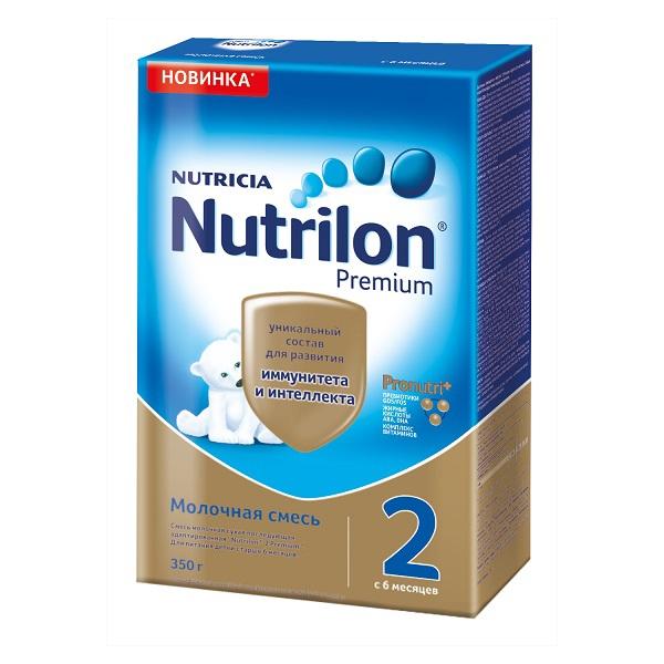 Заменитель Nutricia Nutrilon Premium 350 гр №2 (с 6 мес) (Nutrilon (Nutricia))