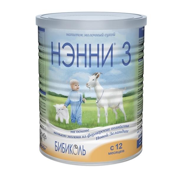 Заменитель Нэнни на основе козьего молока 400 гр №3 (с 12 мес)<br>