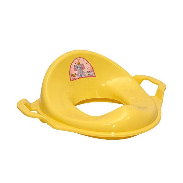 Сидение для унитаза Style с ручками Цвет - желтый<br>