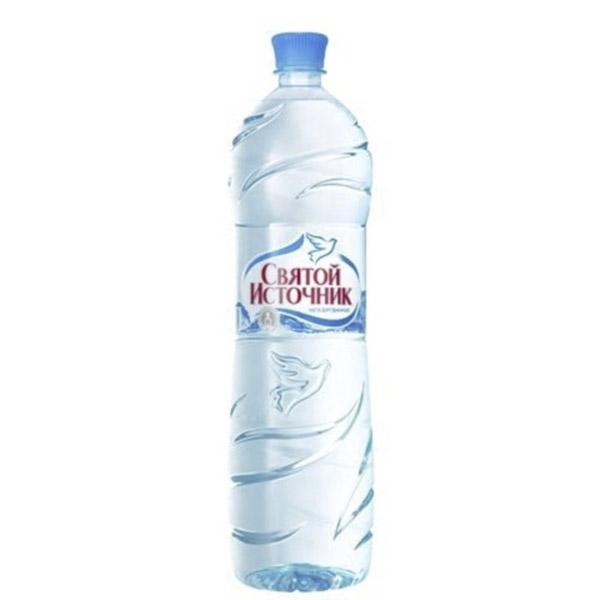 Вода минеральная Святой Источник 1,5 л. Негазированная