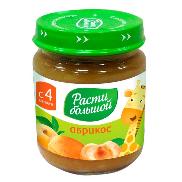 Пюре Расти Большой фруктовое 100 гр абрикос (с 4 мес)<br>