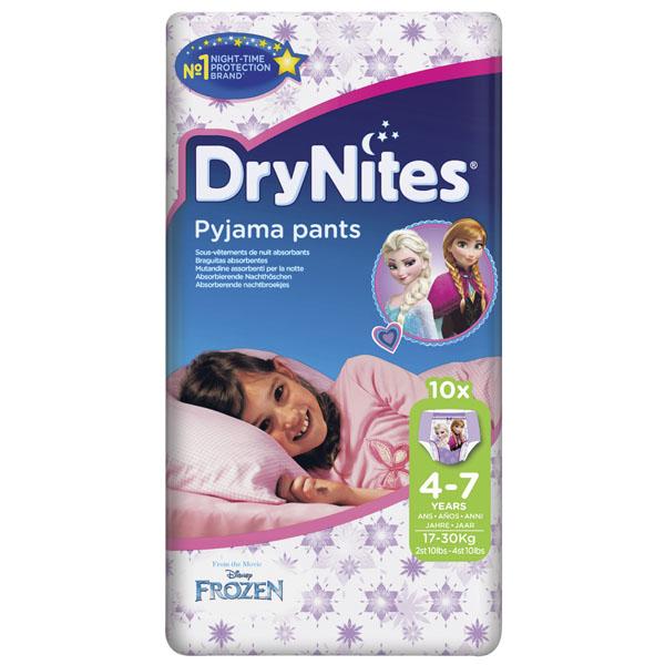 ������� Huggies DryNites ������ ��� ������� 4-7 ��� 17-30 �� (10 ��)