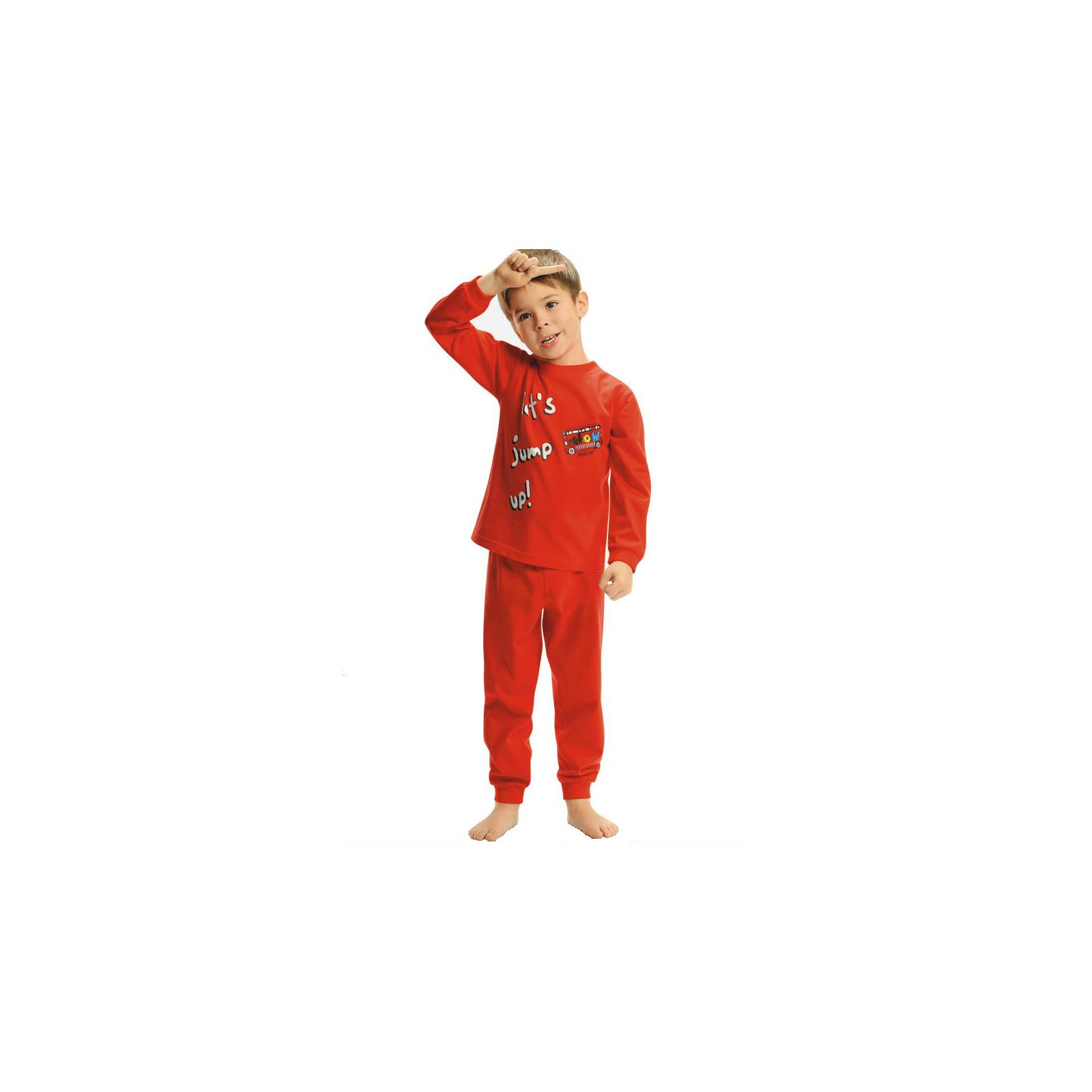 Пижама Pelican цвет Красный BNJP294 возраст 18-24 мес.